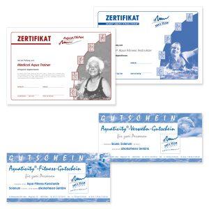 Zertifikate & Gutscheine